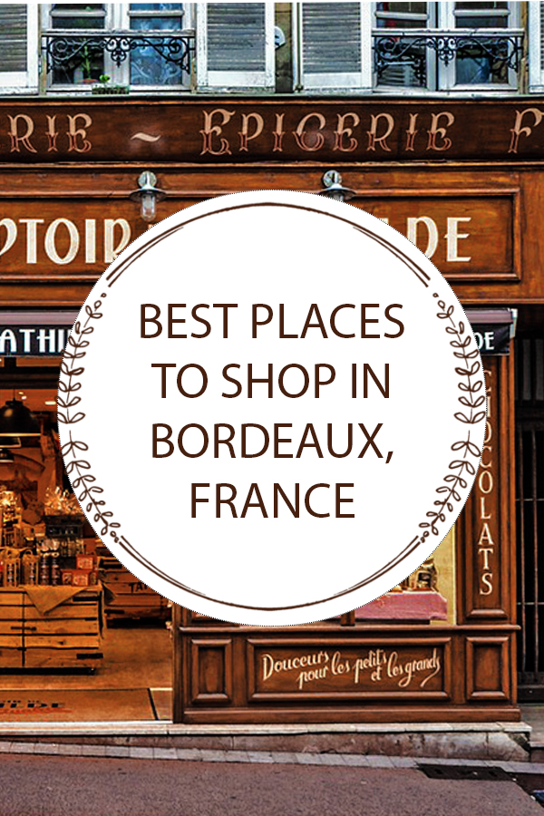 Where to shop in Bordeaux